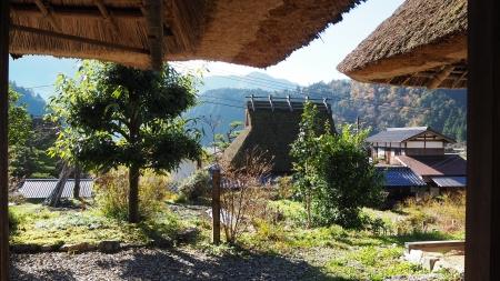 ぴーきち&ダイナ 美山 かやぶきの里ツーリング 美山民俗資料館 景色