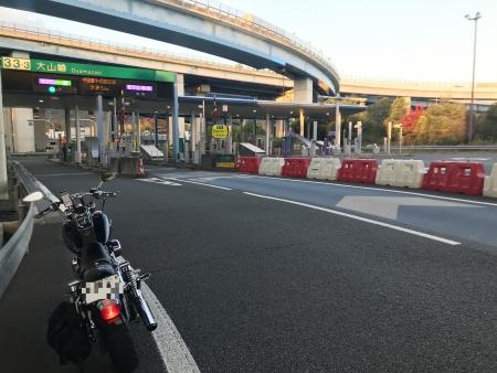 ぴーきち&ダイナ 美山 かやぶきの里ツーリング 大山崎IC