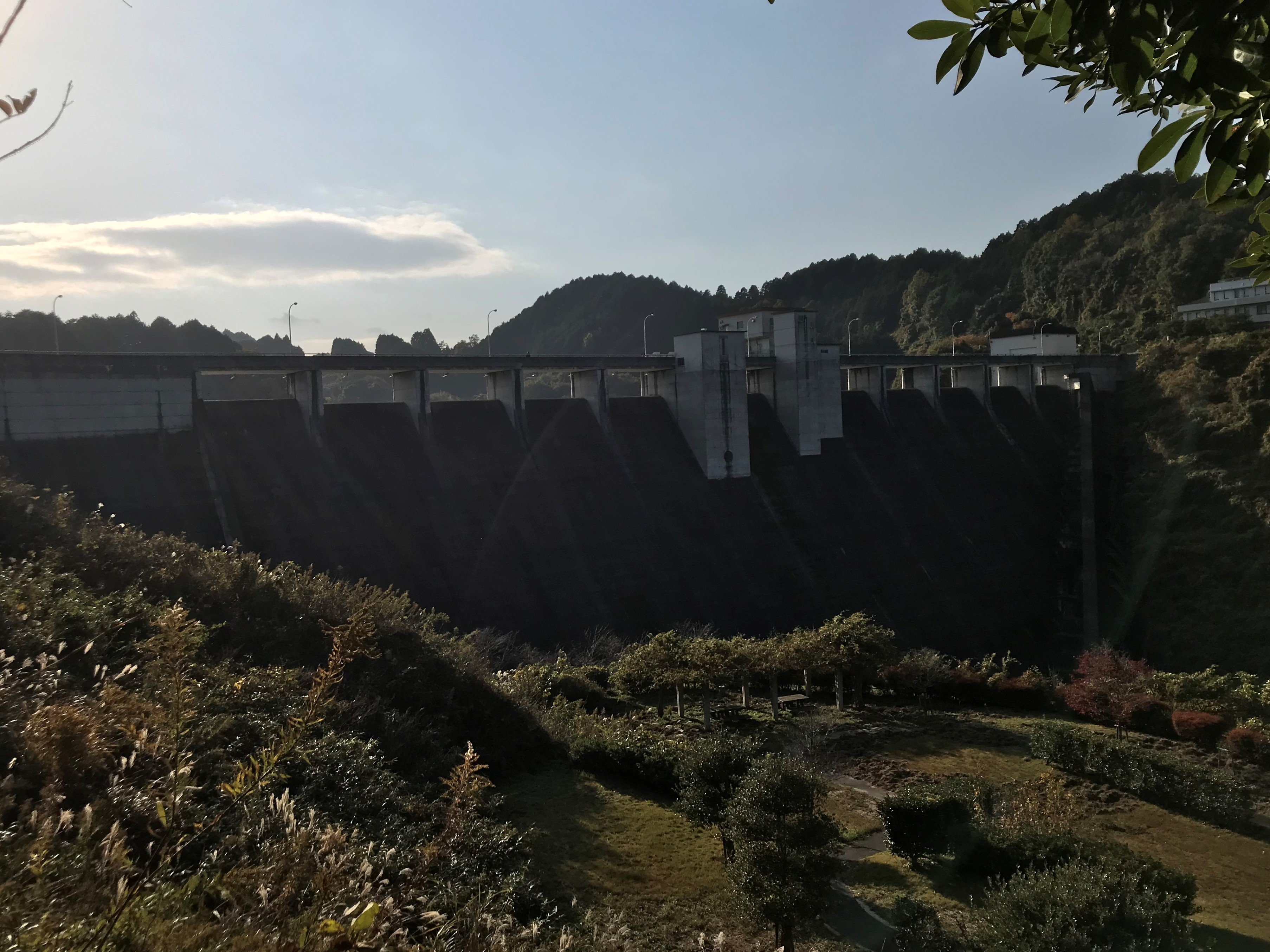 ぴーきち&ダイナ 布目ダムツーリング 布目ダムと公園