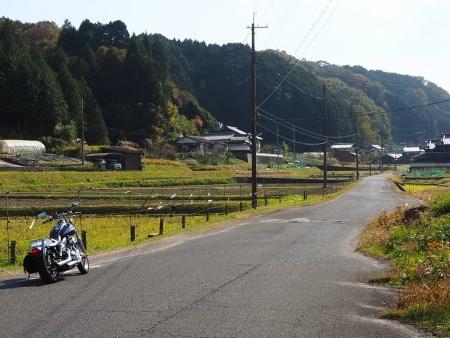 ぴーきち&ダイナ 布目ダムツーリング 柳生街道の景色