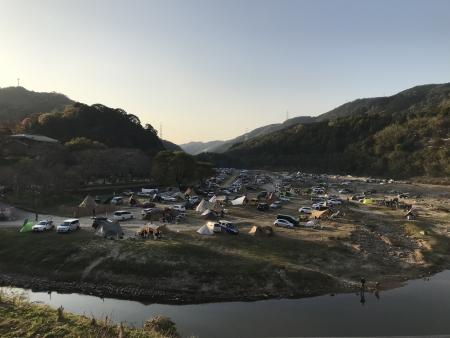 ぴーきち&ダイナ 布目ダムツーリング 笠置キャンプ場