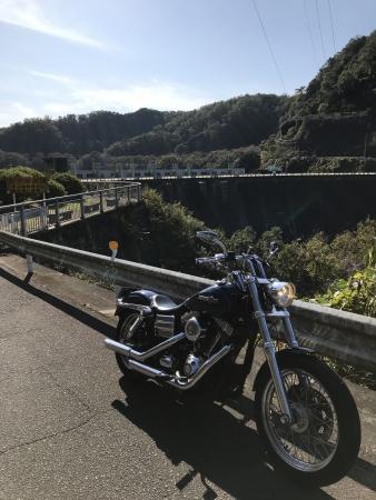 ぴーきち&ダイナ 高山ダムツーリング 高山ダム