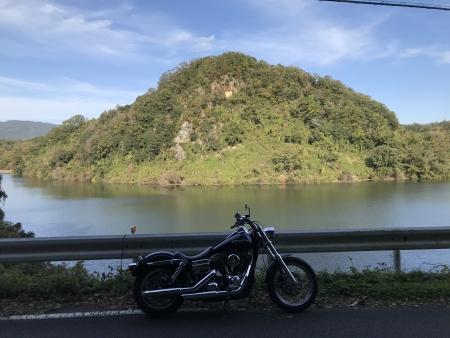 ぴーきち&ダイナ 高山ダムツーリング 高山ダム 月ケ瀬湖