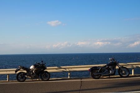 ぴーきち&ダイナ 和歌山湯浅ツーリング 海沿いの道