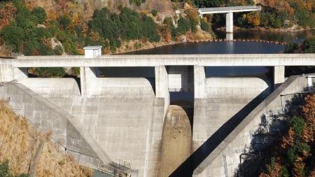 ぴーきち&ダイナ 美山 かやぶきの里ツーリング 大野ダム編 畑川ダム 全景