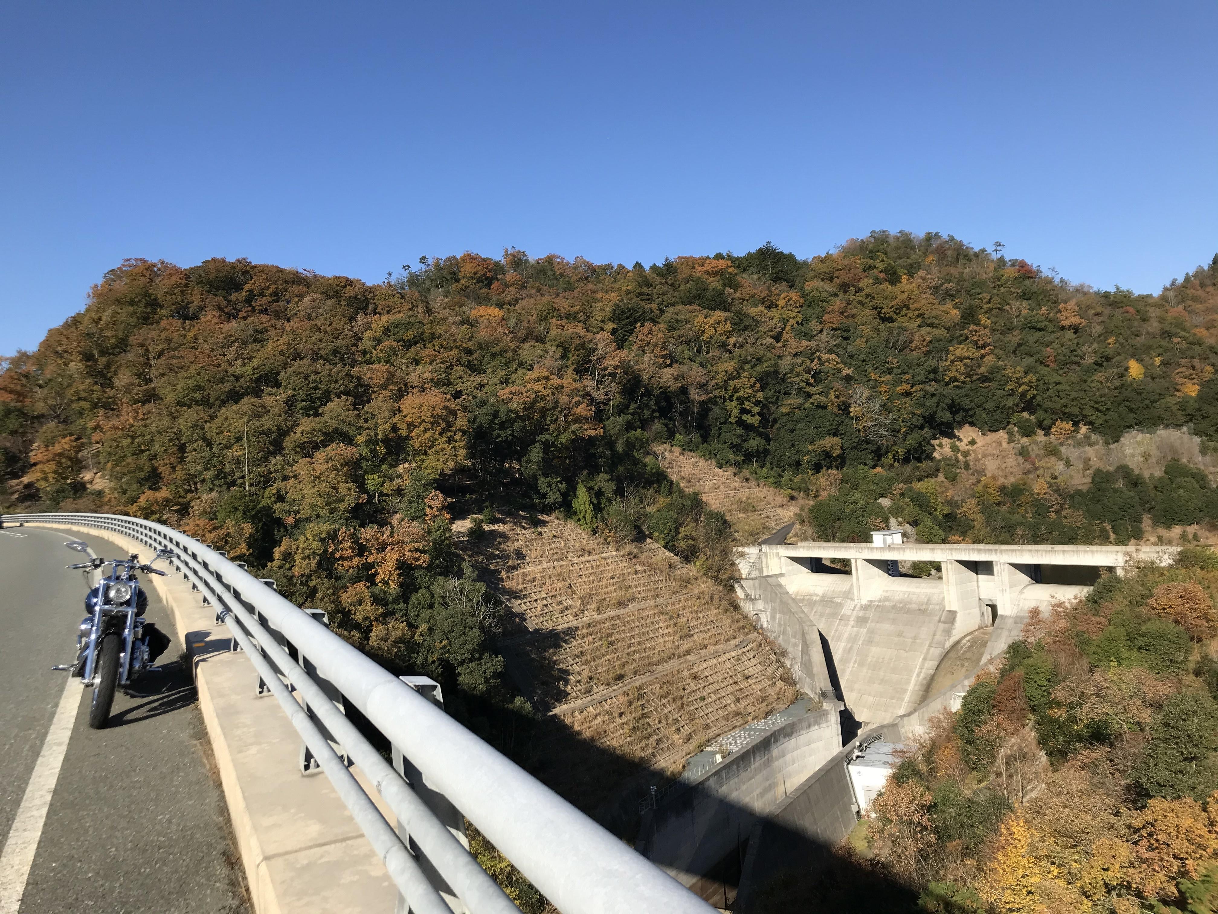 ぴーきち&ダイナ 美山 かやぶきの里ツーリング 大野ダム編 畑川ダム