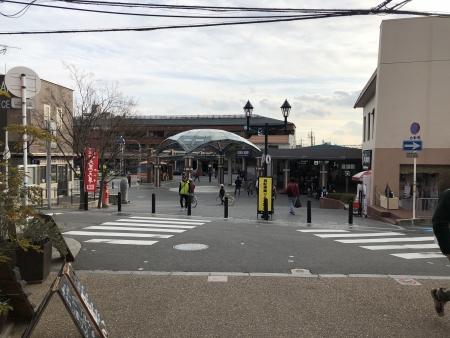 ぴーきち&ダイナ 箕面の滝ツーリング 箕面駅