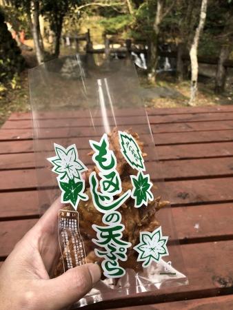 ぴーきち&ダイナ 箕面の滝ツーリング もみじの天ぷら