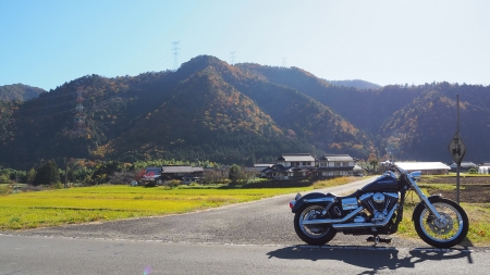 ぴーきち&ダイナ 美山 かやぶきの里ツーリング 大野ダム編 美山かやぶき由良街道