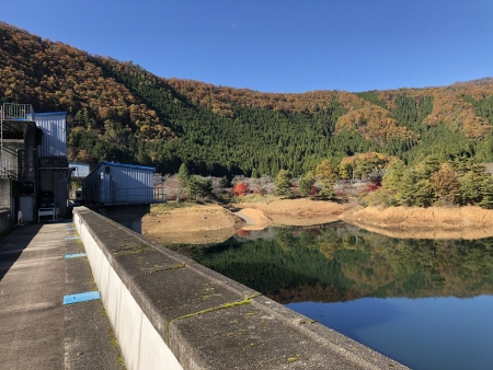 ぴーきち&ダイナ 美山 かやぶきの里ツーリング 大野ダム編 虹の湖