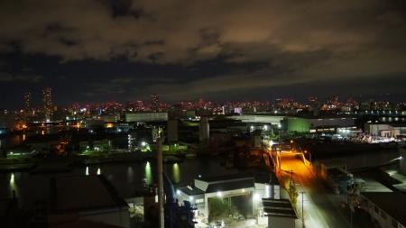 ぴーきち&ダイナ 大阪ナイトツーリング 大阪市内の夜景