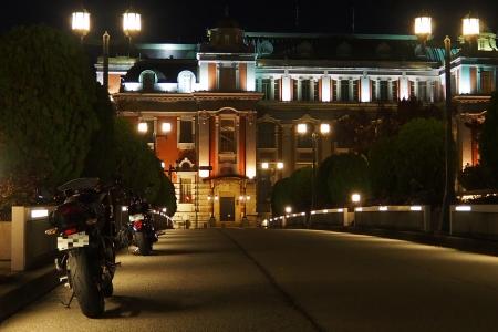 ぴーきち&ダイナ 大阪ナイトツーリング 大阪市中央公会堂の夜景