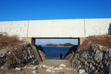 ぴーきち&ダイナ 和歌山湯浅ツーリング 白崎海洋公園 ビーチ