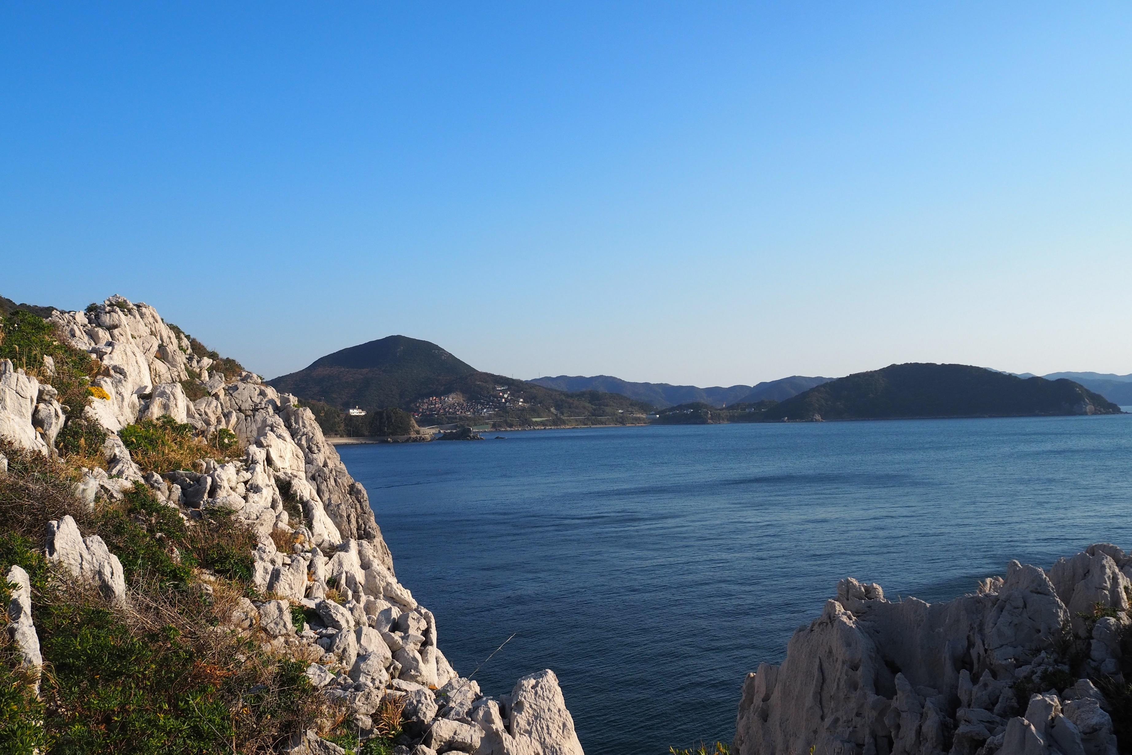 ぴーきち&ダイナ 和歌山湯浅ツーリング 白崎海洋公園 景色 絶景