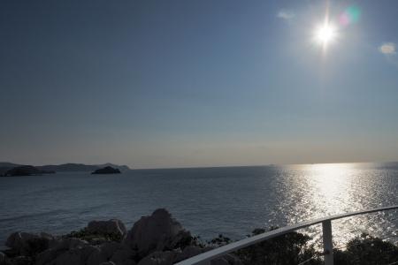 ぴーきち&ダイナ 和歌山湯浅ツーリング 白崎海洋公園 展望台 景色