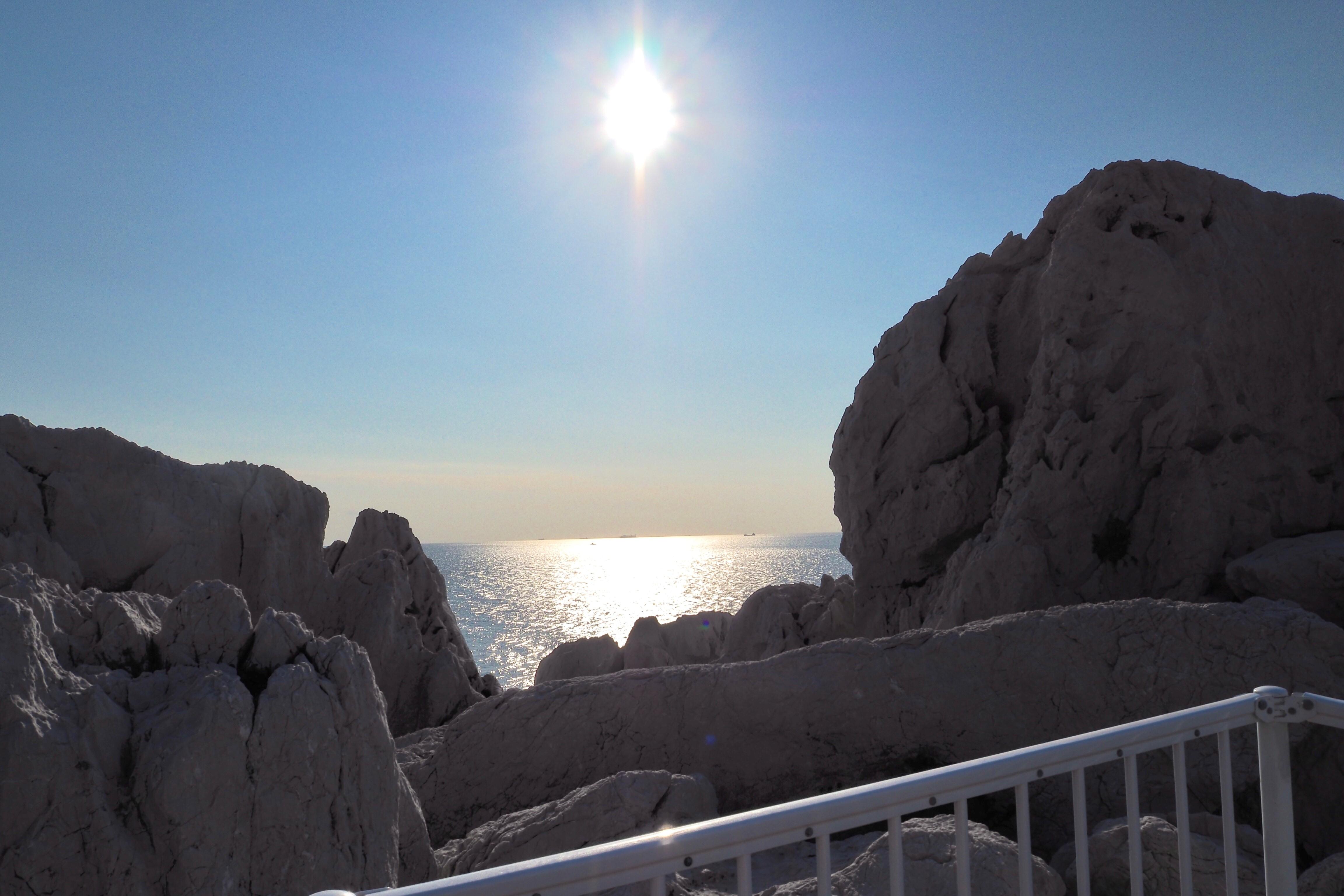 ぴーきち&ダイナ 和歌山湯浅ツーリング 白崎海洋公園 展望台 日本の渚百選