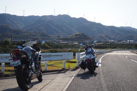 ぴーきち&ダイナ 和歌山湯浅ツーリング 白崎海洋公園の道のり