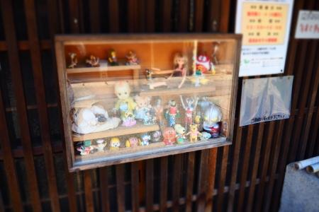 ぴーきち&ダイナ 和歌山湯浅ツーリング 湯浅おもちゃ博物館 店頭ディスプレイ