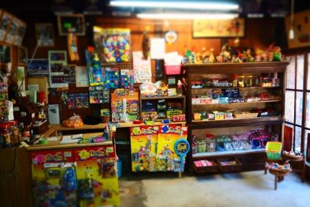ぴーきち&ダイナ 和歌山湯浅ツーリング 湯浅おもちゃ博物館 店内