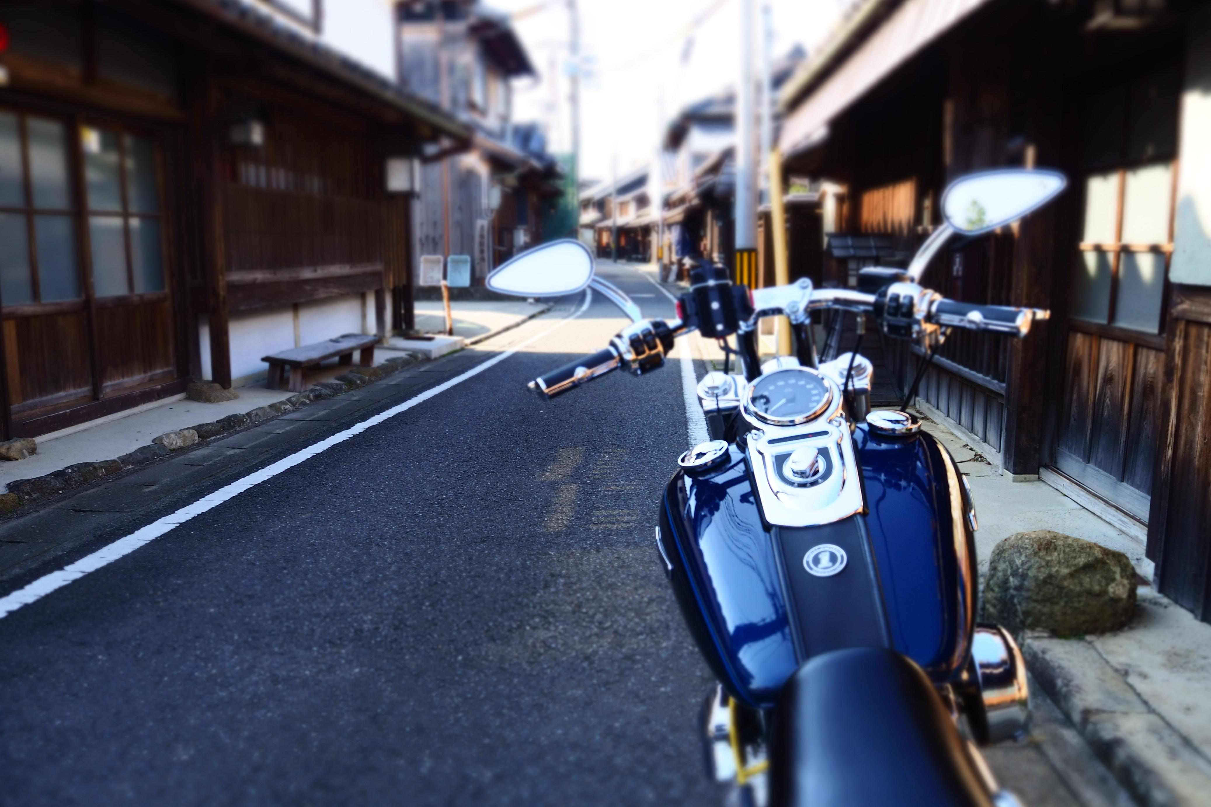 ぴーきち&ダイナ 和歌山湯浅ツーリング 湯浅町重要伝統的建造物群保存地区 町並み