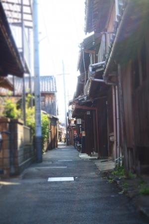 ぴーきち&ダイナ 和歌山湯浅ツーリング 湯浅町重要伝統的建造物群保存地区 路地