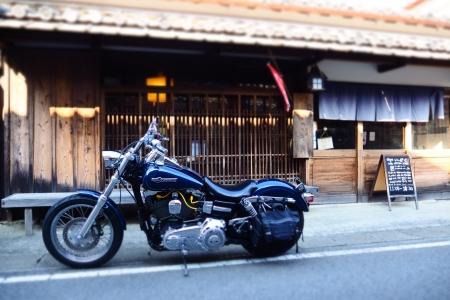 ぴーきち&ダイナ 和歌山湯浅ツーリング 湯浅町重要伝統的建造物群保存地区 町並み カフェ