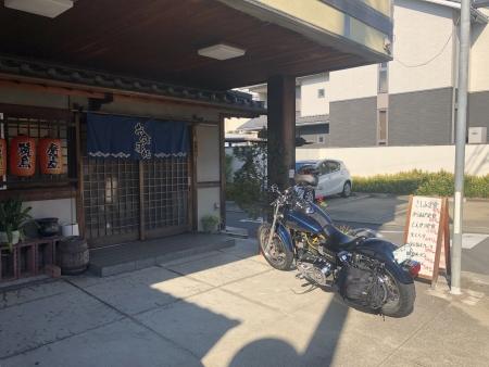ぴーきち&ダイナ 和歌山湯浅ツーリング かどや食堂