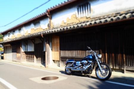 ぴーきち&ダイナ 和歌山湯浅ツーリング 湯浅町重要伝統的建造物群保存地区 古い町並み