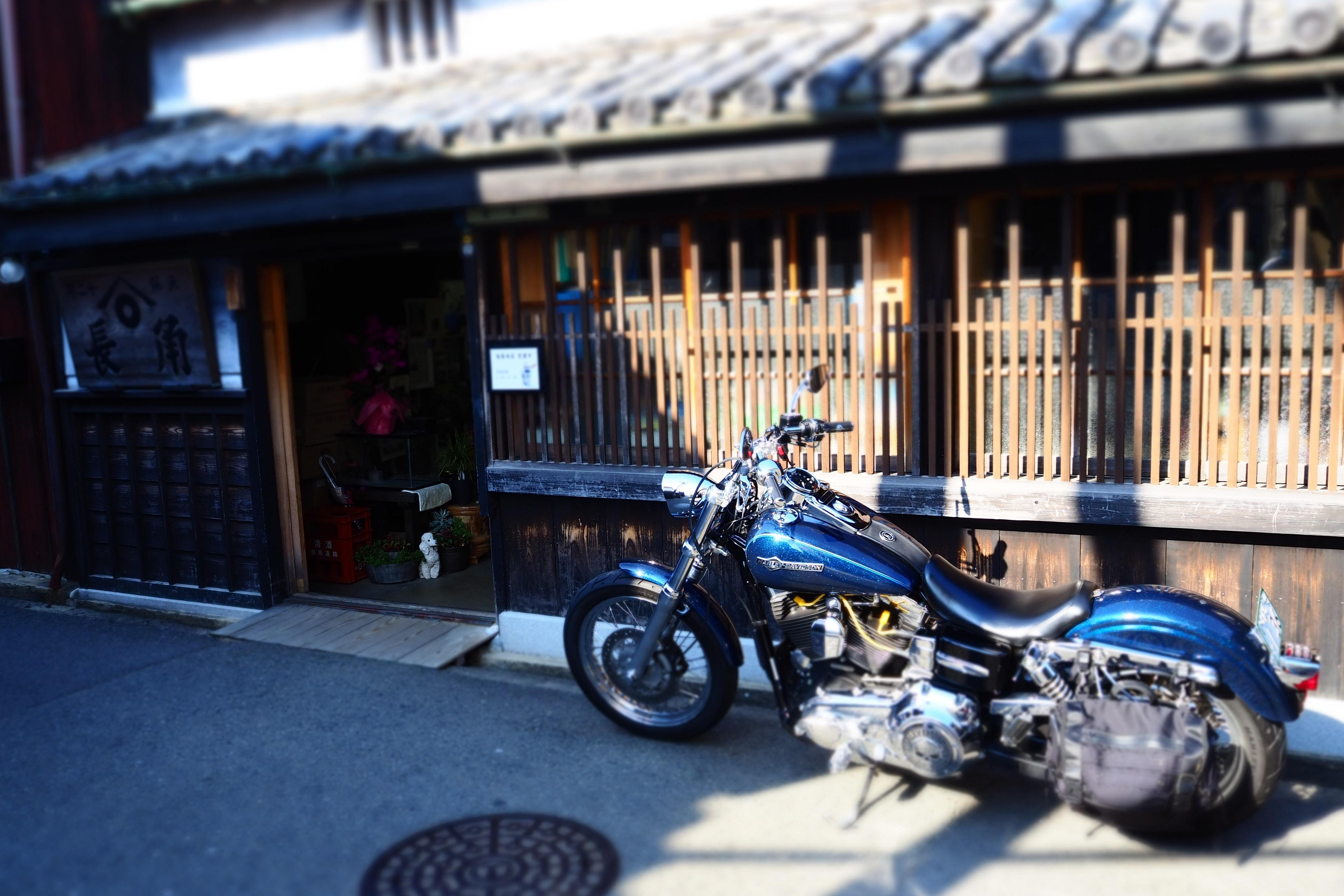 ぴーきち&ダイナ 和歌山湯浅ツーリング 湯浅町重要伝統的建造物群保存地区 角長 店舗