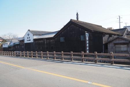 ぴーきち&ダイナ 和歌山湯浅ツーリング 湯浅町重要伝統的建造物群保存地区 角長 工場
