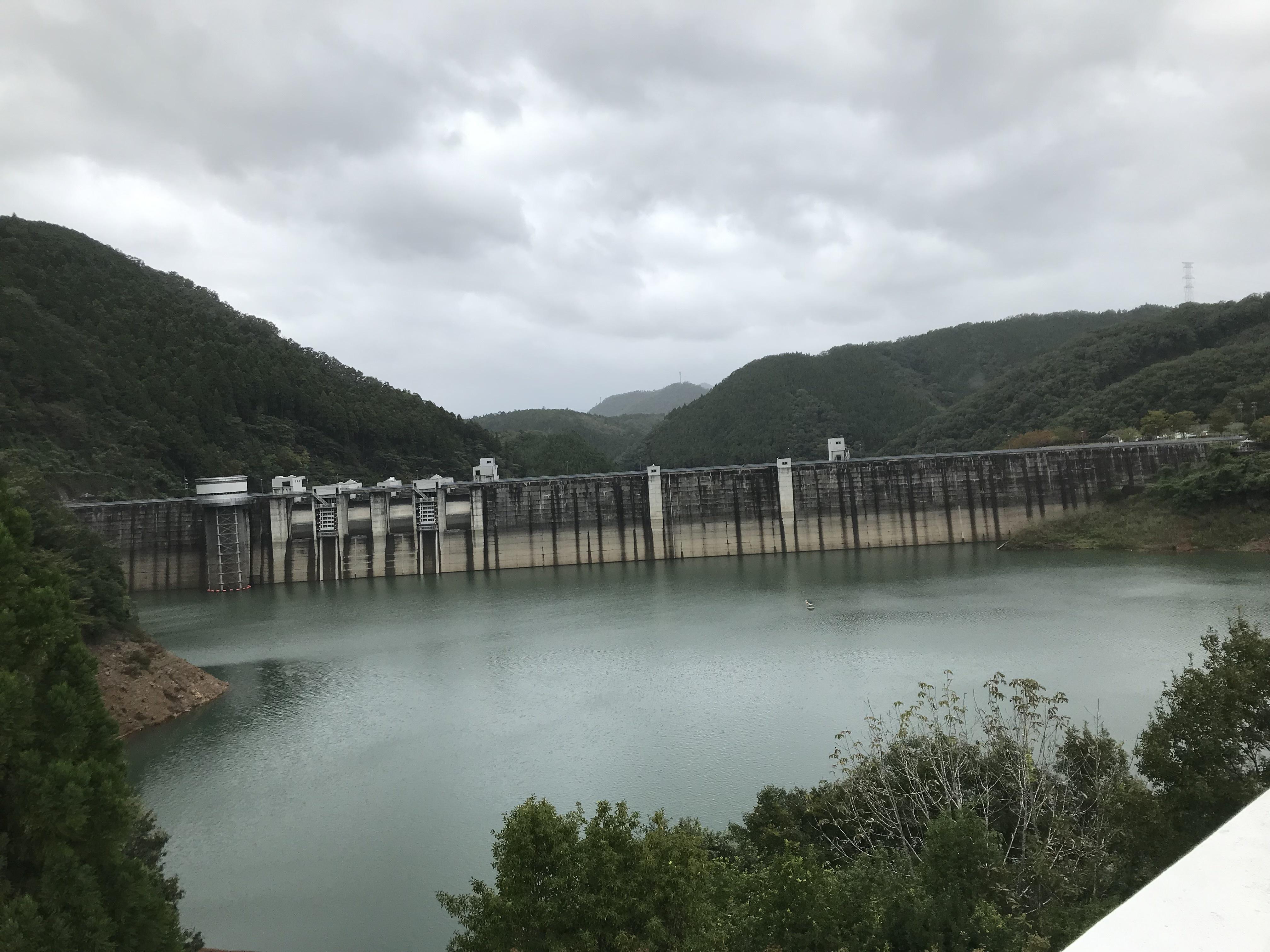 京都ダム巡り ツーリング 日吉ダム