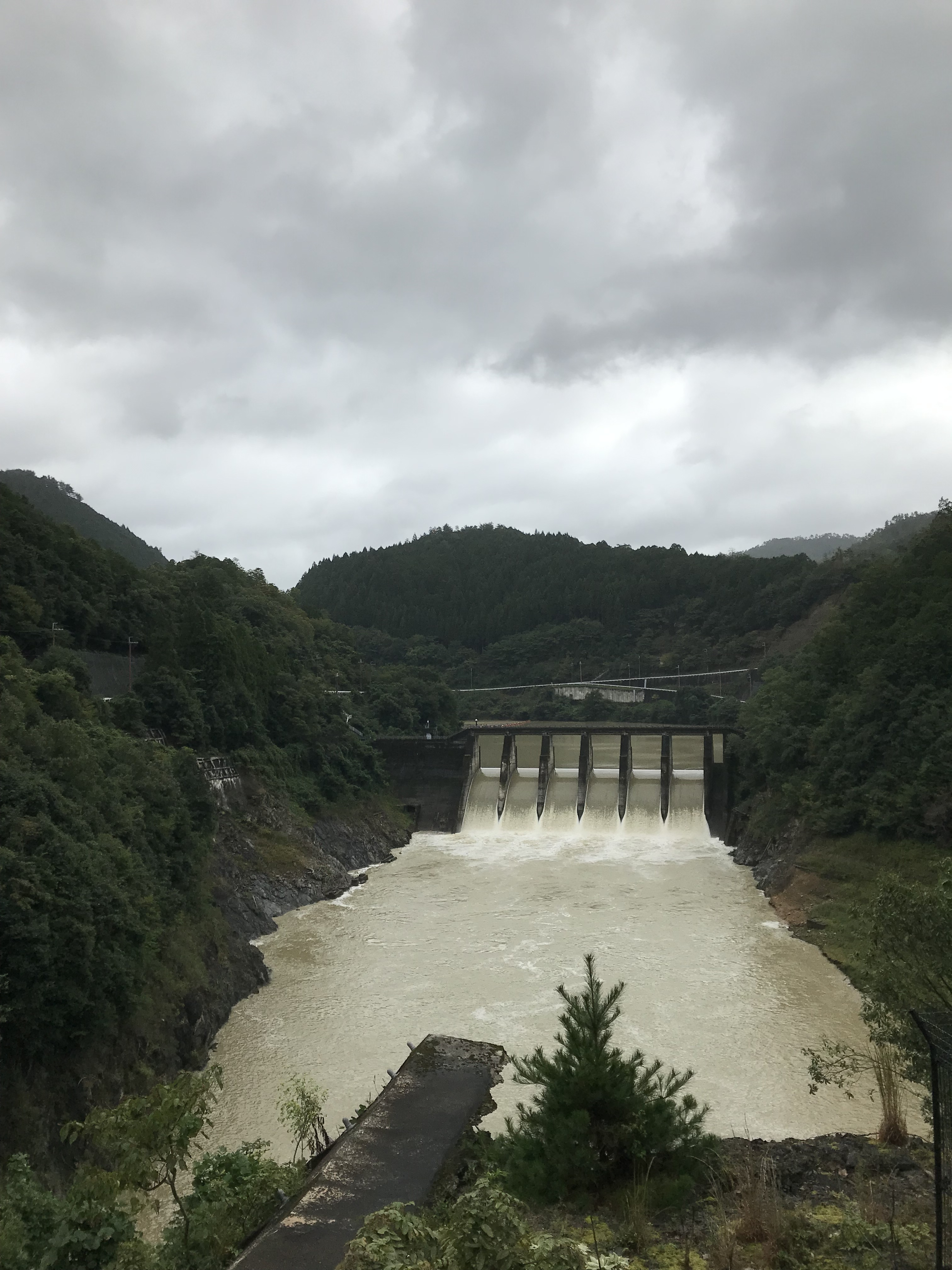 京都ダム巡り ツーリング 世木ダム
