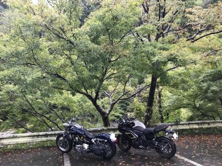 京都ダム巡り ツーリング 高雄