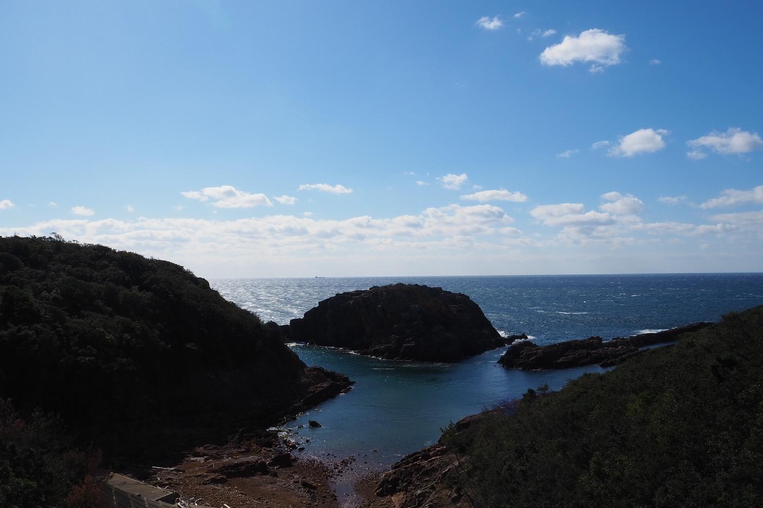 ぴーきち&ダイナ 和歌山南紀白浜ツーリング 海辺の景色