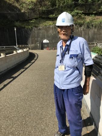 ぴーきち&ダイナ ハーレーで行く 天ケ瀬ダム ツーリング 管理のおじさん