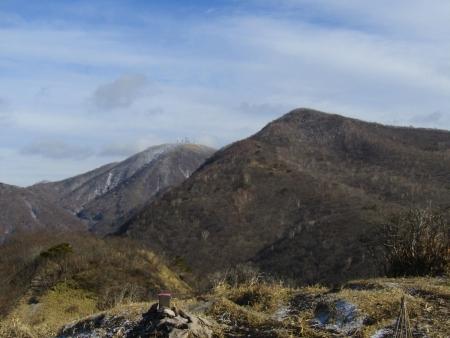 191215鍋割山~荒山 (4)荒山・地蔵岳s