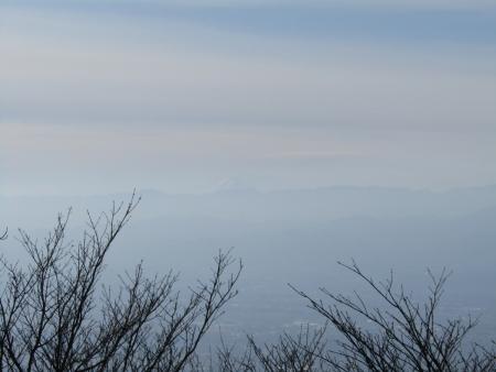 191215鍋割山~荒山 (6)富士山s