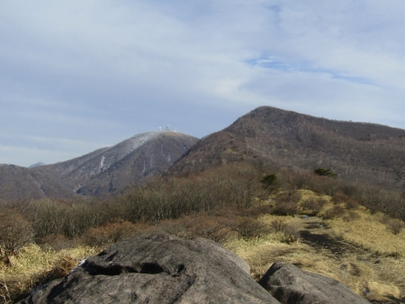 191215鍋割山~荒山 (10)荒山・地蔵岳s