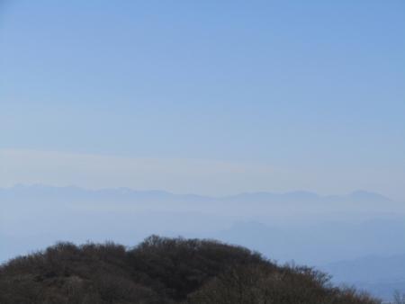 191215鍋割山~荒山 (14)八ヶ岳s