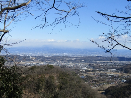 200209朝日岳(吉井町・甘楽町) (9)赤城山s