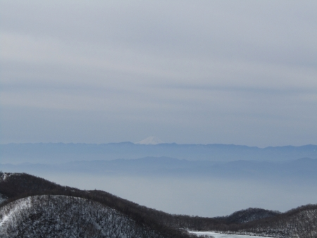 200215駒ヶ岳~黒檜山 (5)富士山s