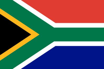 南アフリカ国旗
