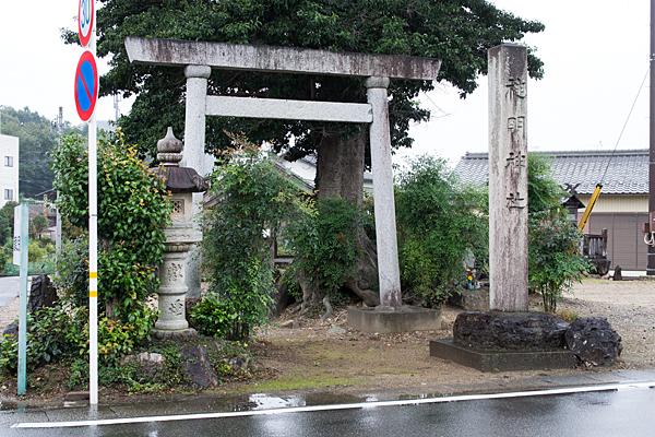 苧ヶ瀬神明社