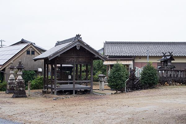 苧ヶ瀬神明社全景