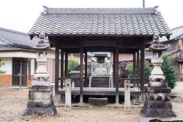 苧ヶ瀬神明社拝殿