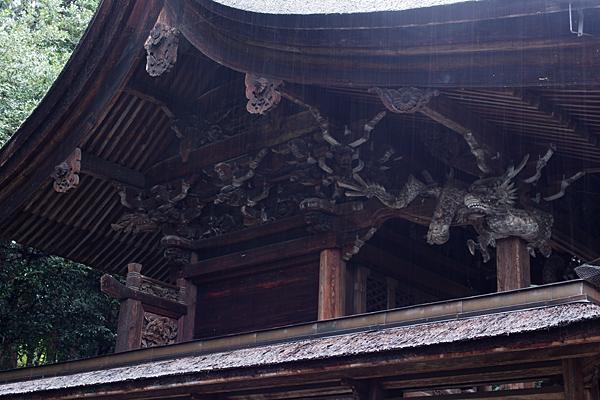 手力雄神社本殿彫り物