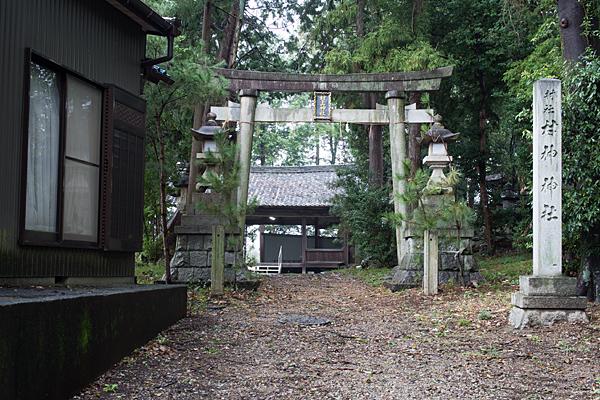 村神神社入り口鳥居