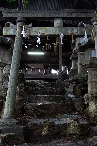 村上神社南鳥居から