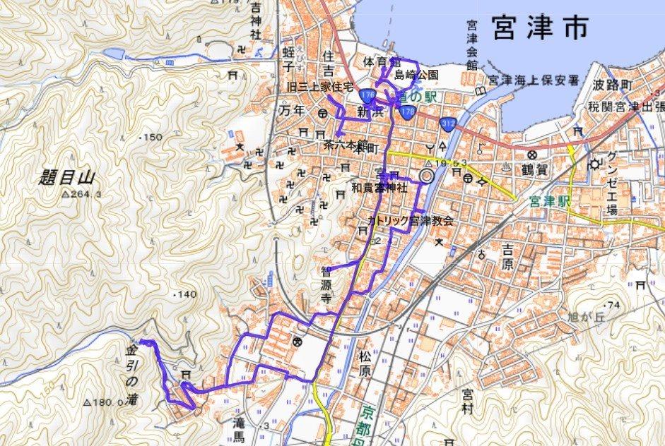 1909-00-宮津-軌跡