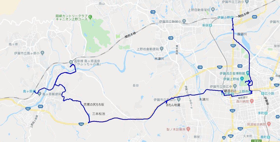 1910-00-伊賀上野-軌跡